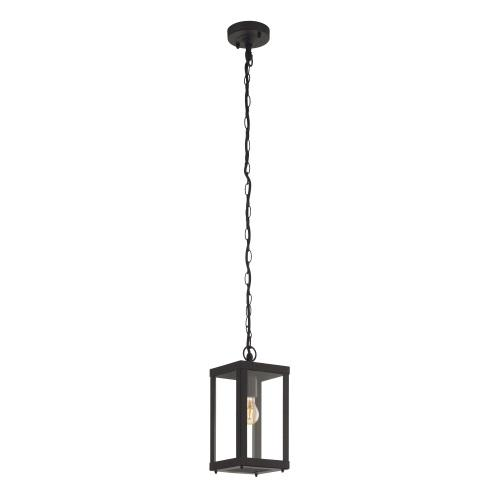 Alamonte 1 Outdoor Black Chain Lantern 94788