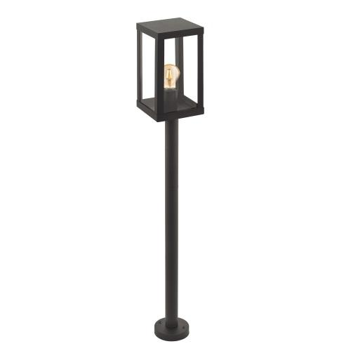 94833 Alamonte 1 Outdoor Black Post Light