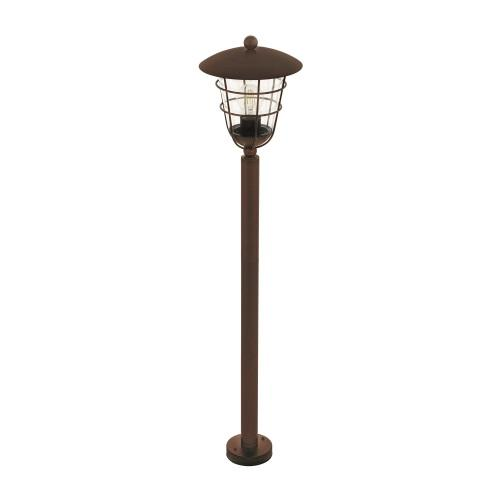 Pulfero 1 Outdoor Brown Post Light 94857
