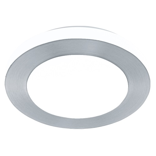 LED Capri Small Aluminium Finish Bathroom LED Wall/Ceiling Light 94967