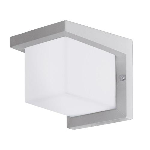 95096 Desella 1 LED Silver/Grey Outdoor Wall Light