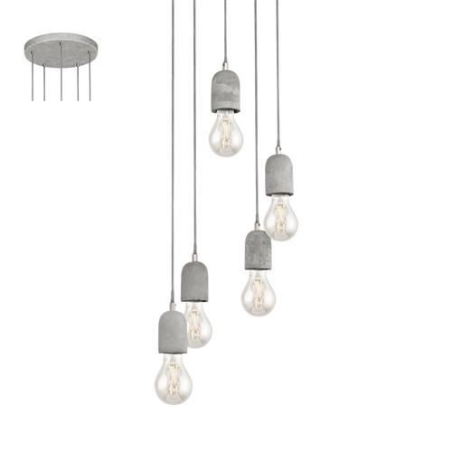 Silvares Five Light Pendant 95524