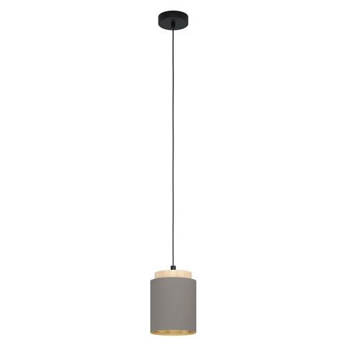 Albariza Black & Brown Single Ceiling Pendant 99445