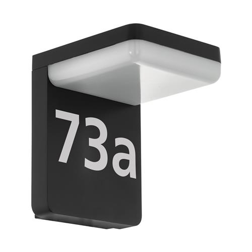 Amarosi Black Outdoor Wall Light 98091