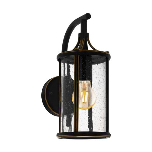 Apimare Outdoor Black Wall Light 96232