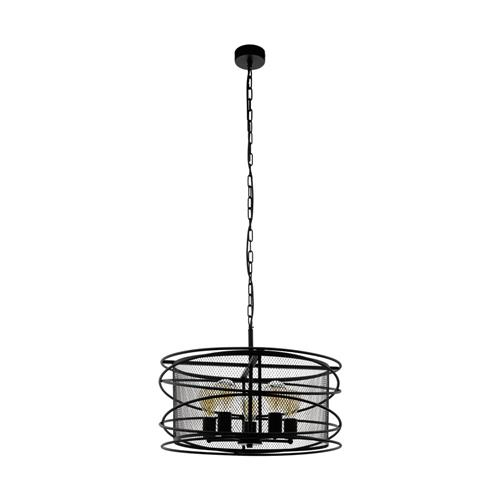 Blackwater Black Hanging Ceiling Pendant 43093
