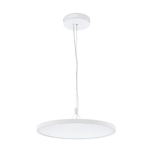 Cerignola-C Large Steel White Aluminium LED Pendant Light 98606