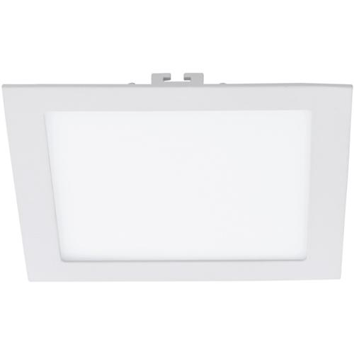 Fueva 1 LED Recessed Square 225mm Recess Spot 94069
