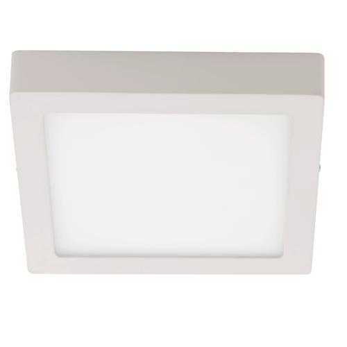 Fueva 1 White 300mm Square 4000K LED Surface Mount Ceiling Light 94538