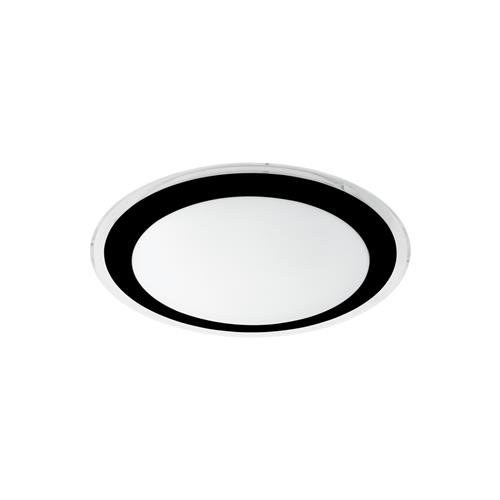 Competa 2 LED Black & White Circular Ceiling Fitting 99404