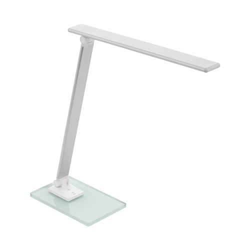 Conversana LED Silver Glass Touch Table Lamp 98248
