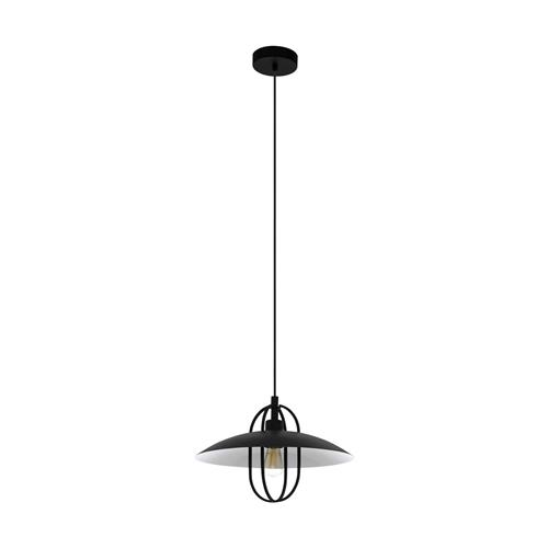 Cregan Black Ceiling Pendant 43301