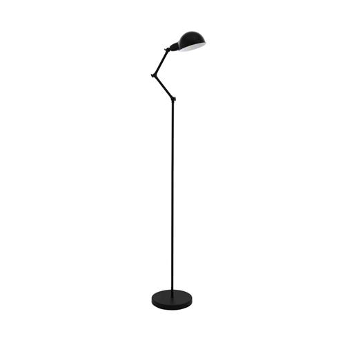 Exmoor Black Adjustable Floor lamp 49042