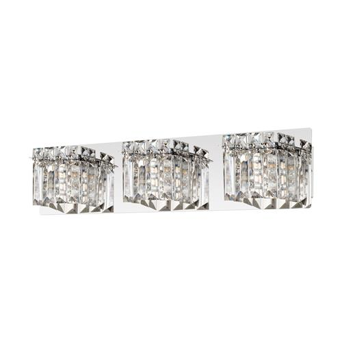 Fuertescusa Triple Chrome Crystal Wall Light 98599