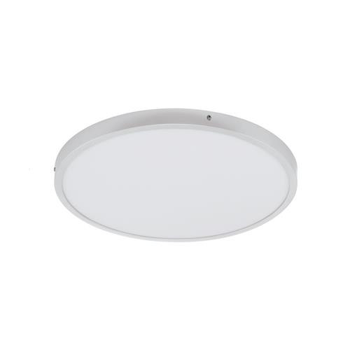 Fueva 1 Neutral White Flush LED 500mm Silver Ceiling Light 97276