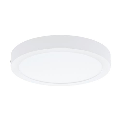 Fueva 1 Surface Mounted White Bathroom LED Ceiling Light 96253