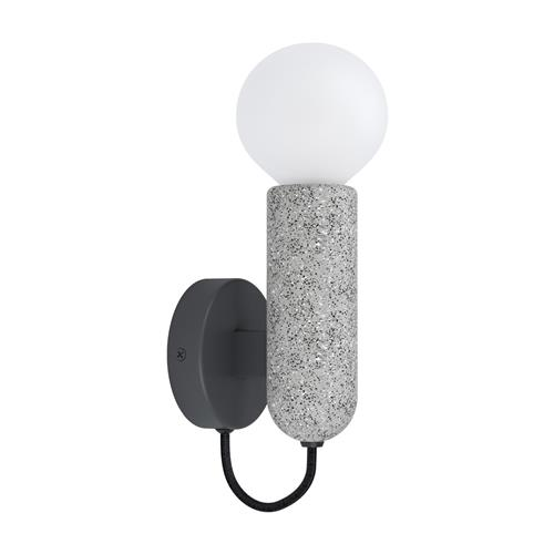 Giaconecchia Anthracite & Grey Single Wall Light 39834