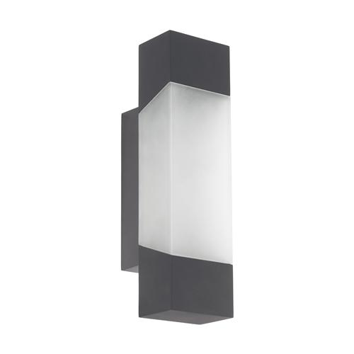 Gorzano Anthracite LED Outdoor Wall Light 97222