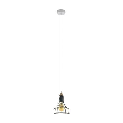 Itchington 1 Grey Patina Cage Ceiling Pendant 33035