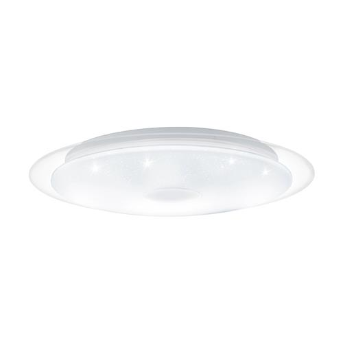 Lanciano 1 LED Small White Crystal Effect Light 98323