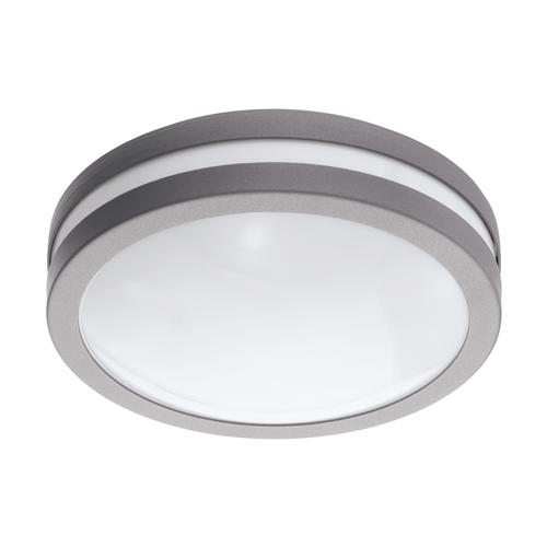 Locana LED Outdoor Silver Wall Or Ceiling Light 97299