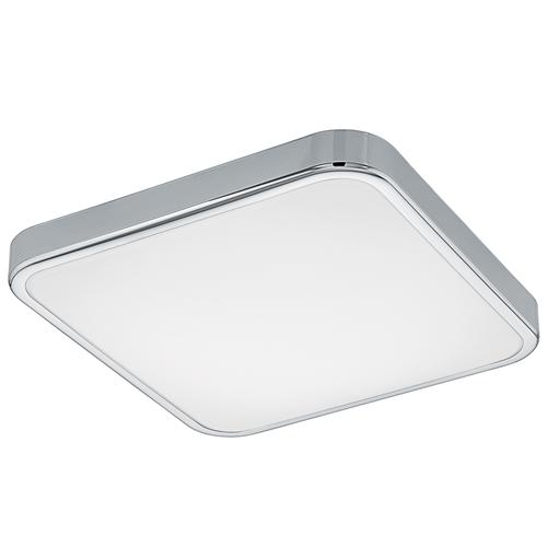 Manilva 1 Chrome IP44 Square LED Light 96229