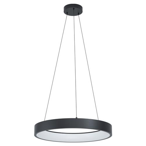 Marghera-C Black & White LED Pendant Fitting 99027