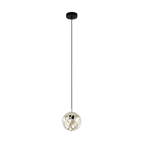 Mirtazza Champagne Single Steel Pendant Fitting 99071