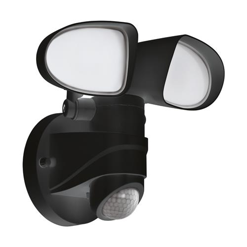 Pagino LED Black Outdoor PIR Wall Light 98176
