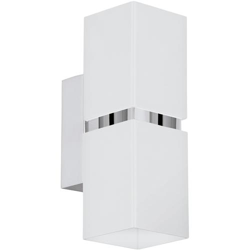 Passa Square White LED Wall Light 95377