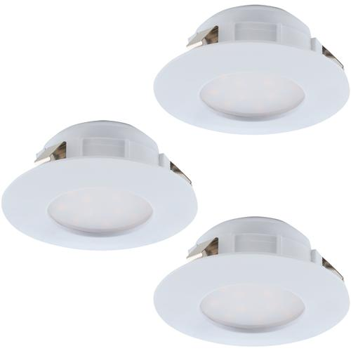 Pineda IP44 Pack Of Three Spot Lights 95821