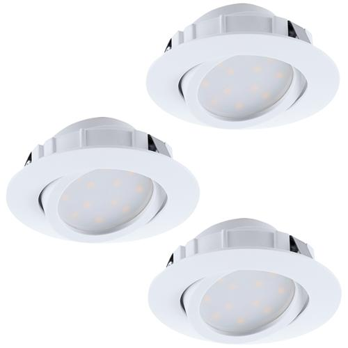 Pineda Pack Of Three Tiltable Spotlights 95851