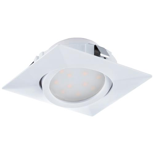 Pineda Square LED Tiltable Recessed Spot Light 95841