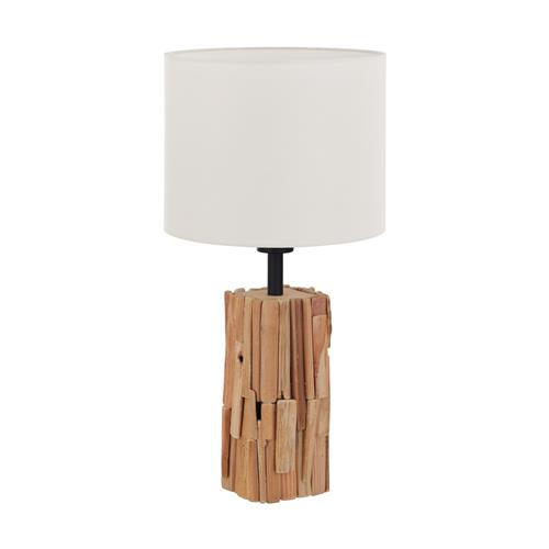 Portishead Natural Wood Table Lamp 43212