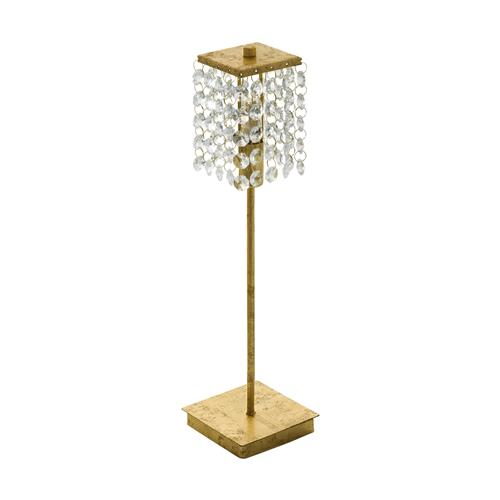 Pyton Gold LED Crystal Table Lamp 97725