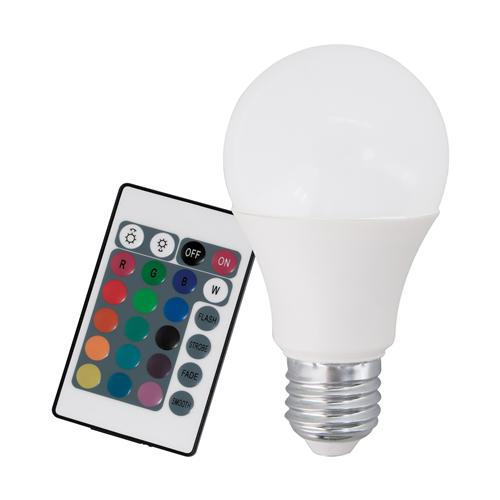 RGB+W 7.5w Dimmable ES LED GLS Lamp 10899
