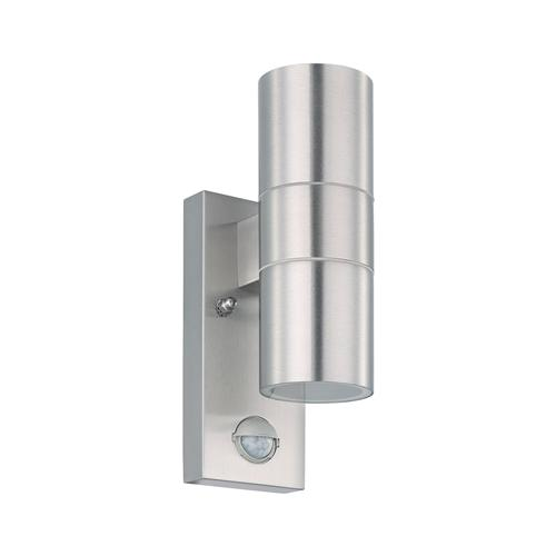 Riga 5 Stainless Steel Outdoor Sensor Wall Light 32898