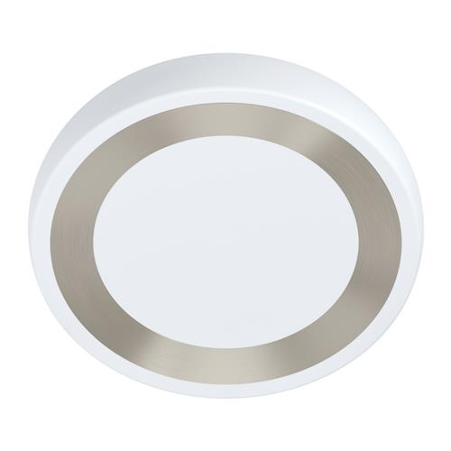 Ruidera LED White & Silver Round Ceiling Fitting 99108
