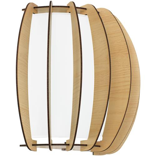 Stellato 1 Single Wooden Wall Light 95602