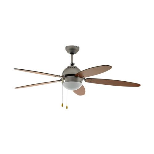 Susale Satin Nickel Ceiling Fan 35042
