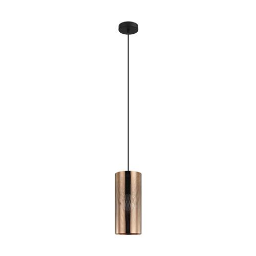 Tabiago Rose Gold Steel Cylinder Single Pendant 99016