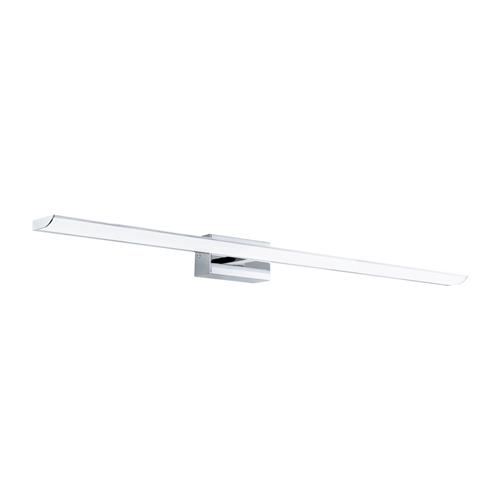 Tabiano-C LED Large Steel & Chrome Bathroom Mirror Light 98452