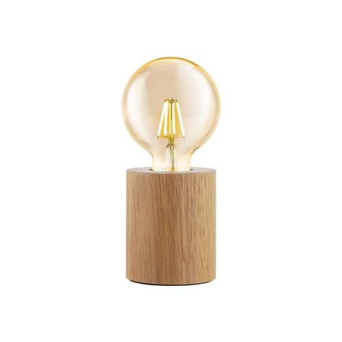 Turialdo Wooden Cylinder Table Lamp 99079