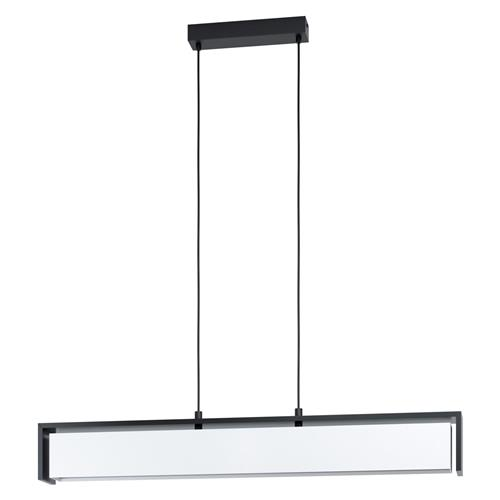 Valdelagrano-C LED Black & White Pendant Fitting 98445