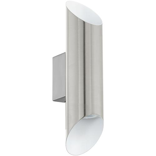 Viegas LED Double Satin Nickel Wall Light 95422