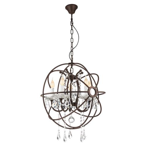 West Fenton Cage Crystal Pendant Light 49741