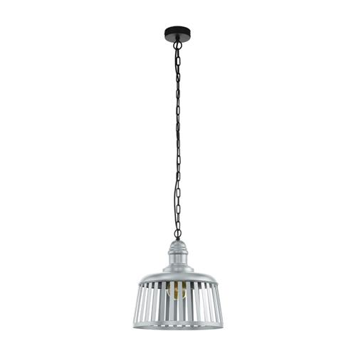 Wraxall 1 Silver Finished Ceiling Pendant 33025