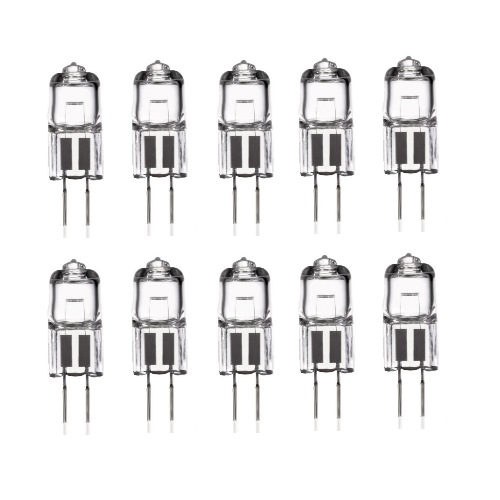 G4 5W Clear Halogen Bulbs 10 Pack