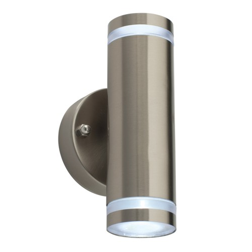 Wall Sconces That Shine Up And Down: 12522 Aura Twin Outdoor Wall Light