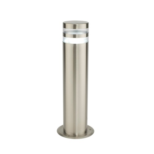 13932 Morse Outdoor Post Light Stainless Steel Chrome